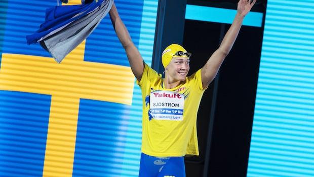 Sjöström blev historisk - simmade hem nytt VM-guld