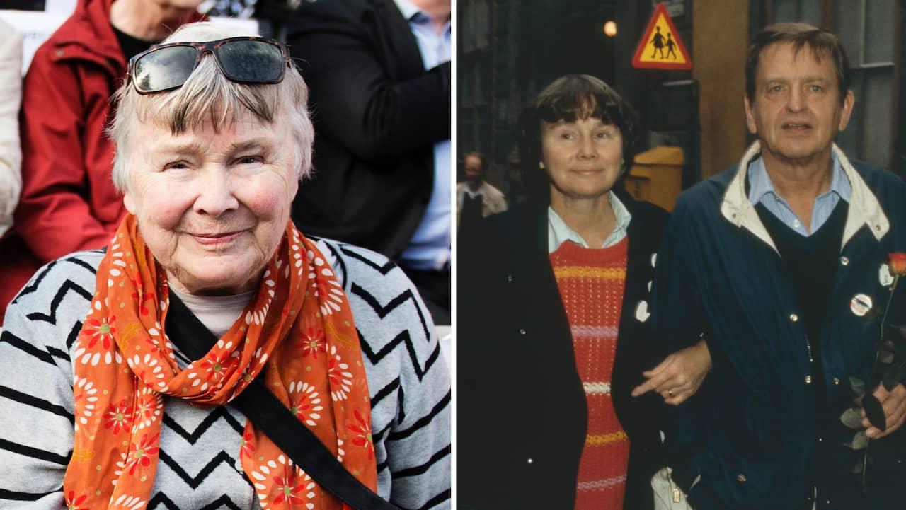 Lisbet Palme är död – gick bort efter en tids sjukdom