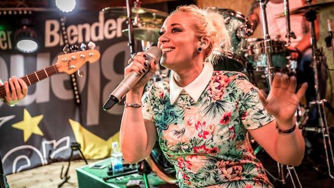 Blender spelar upp till dans under Svenska Dansbandsveckan i Malung 2015. Foto: Svenska Dansbandsveckan