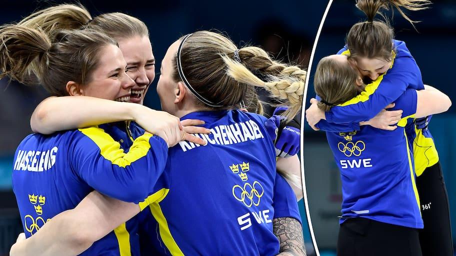 OS-guld i curling till Sverige och Lag Hasselborg