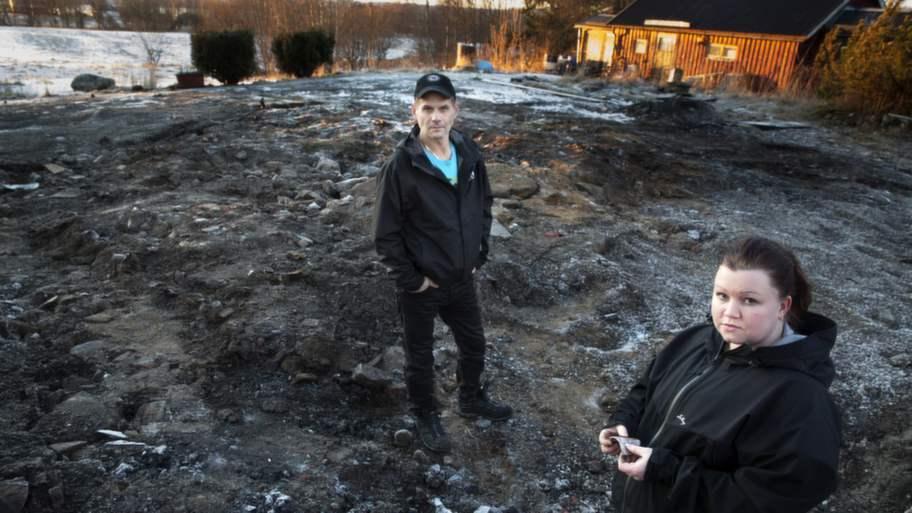 Grannarna chockade ledsna och arga efter dodsbranden
