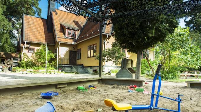 Här är förskolan där Estelle tidigare har gått. Foto: Suvad Mrkonjic