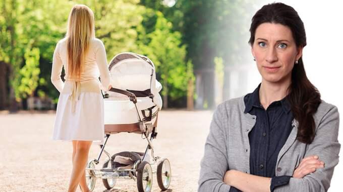 Det är ett ständigt tjat om de vedermödor som drabbar världens kanske mest privilegierade mammor, skriver Susanna Birgersson.
