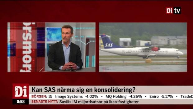 Kan SAS närma sig en konsolidering?