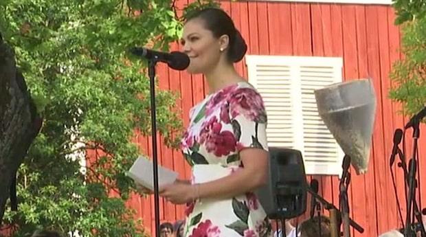 """Victorias starka ord om terrordådet: """"Svenskarna svarade med mod"""""""