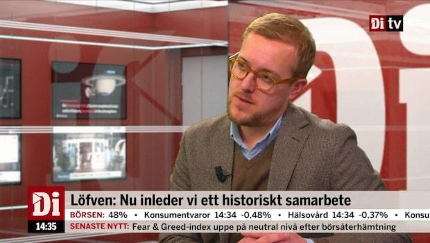 Arvid Åhlund synar Löfvens nya regering