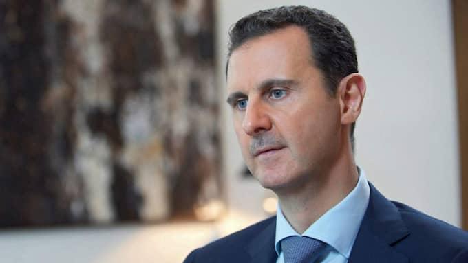 Syriens president Bashar al-Assad uppges stäla sig bakom vapenvila – men en villkorad sådan. Foto: Sana / Handout / Epa / Tt