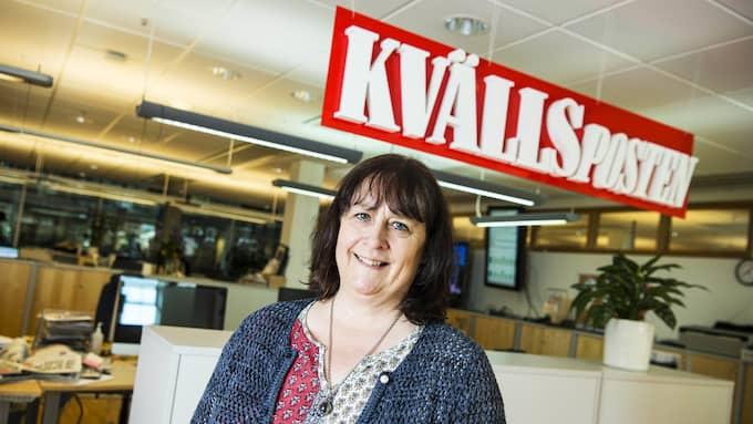 """""""Vi vill vara en viktig del av den politiska debatten i Sydsverige"""", säger Kvällspostens chefredaktör Katrin Säfström Foto: CHRISTIAN ÖRNBERG"""