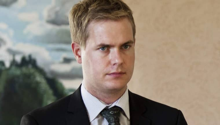 Gustav Fridolin. Foto: Lisa Mattisson