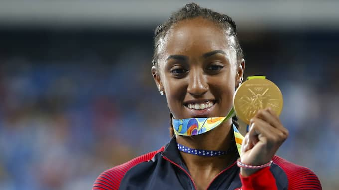 Brianna Rollins, olympisk mästare. Foto: Soutello/Agif/Rex/Shutterstock / SOUTELLO/AGIF/REX/SHUTTERSTOCK/I REX FEATURES