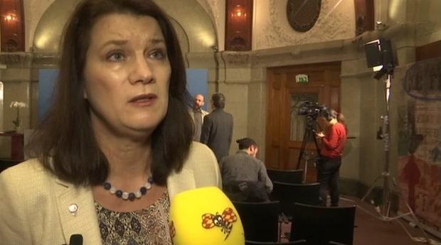 """Ann Linde efter Björklunds slöj-kritik: """"Okunnig och felaktig"""""""