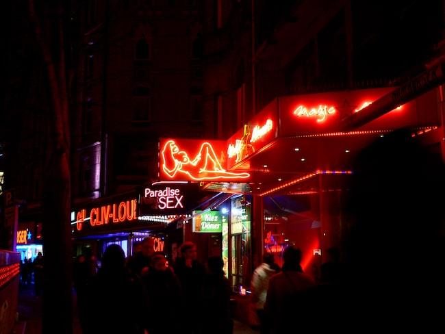 """Amsterdams """"red light district"""" är en av stadens stora turistattraktioner."""