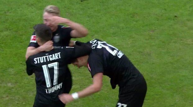 Mario Gomez dubbelmål frälste Stuttgart