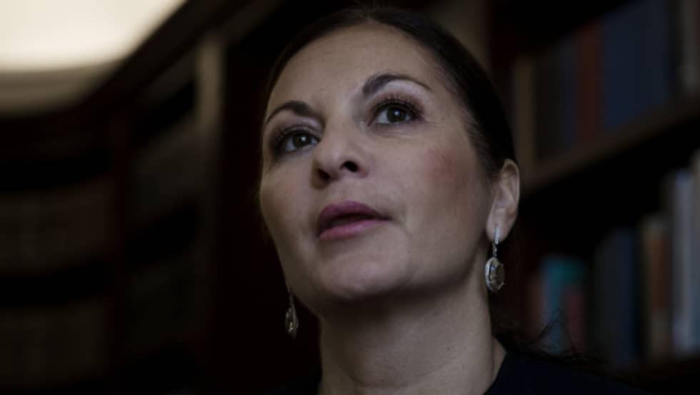 Elisabeth Massi Fritz har haft flera uppmärksammade fall. Foto: Lisa Mattisson