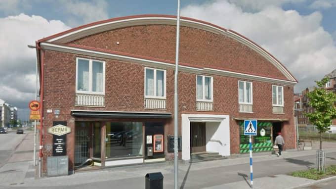 Halmstads moské. Foto: Google streetview
