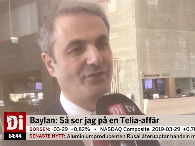 """Näringsministern om försäljningen av Telia: """"Lyssnar på Försvaret"""""""
