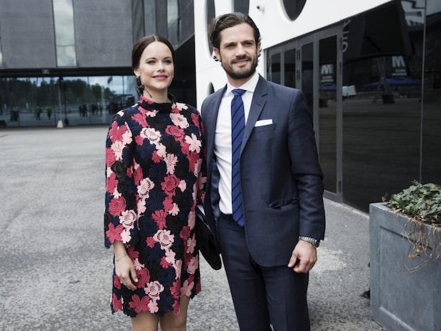 Nu får Prins Carl Philip och Sofia flytta in till Villa Solbacken