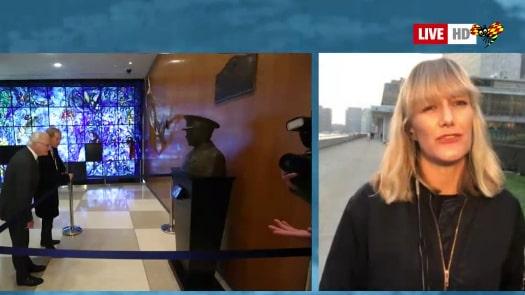 Så var kungaparets besök på FN:s högkvarter