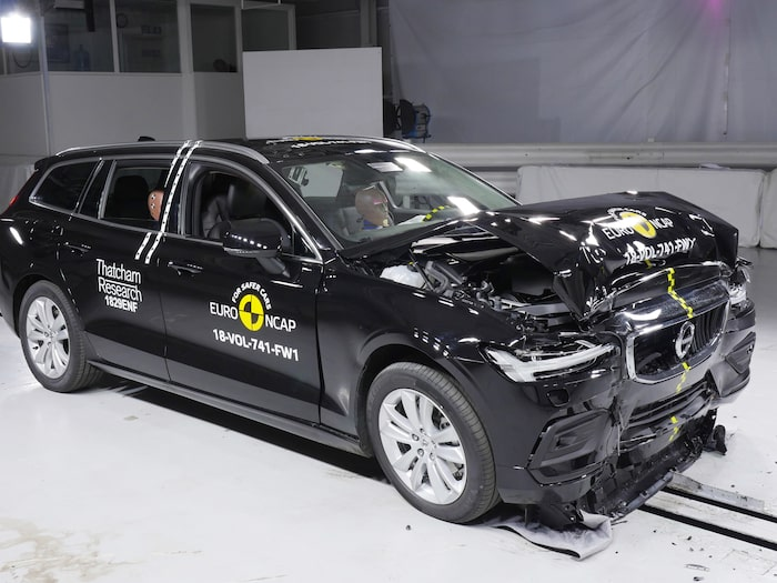 Volvo V60 klarar sig bra i testerna.