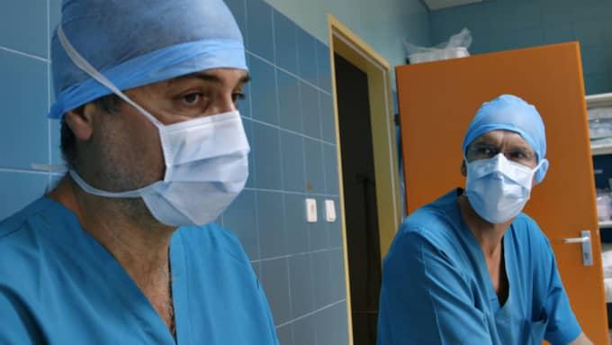 kirurgen Paolo Macchiarini. Foto: SVT
