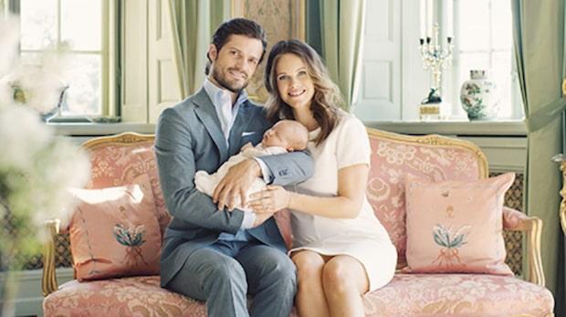 Här är nya bilderna på prinsfamiljen