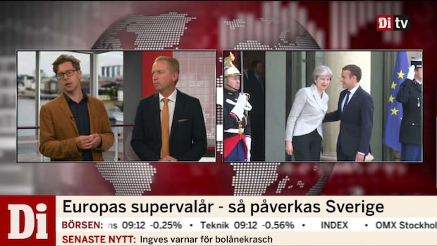 """Munkhammar: """"Sverige behöver beslut om euro"""""""
