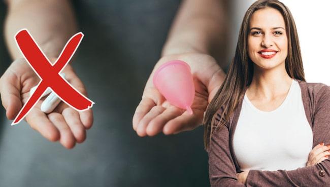 Menskoppen har många fördelar jämfört med tamponger. Vad sägs till exempel om ett bättre sexliv?