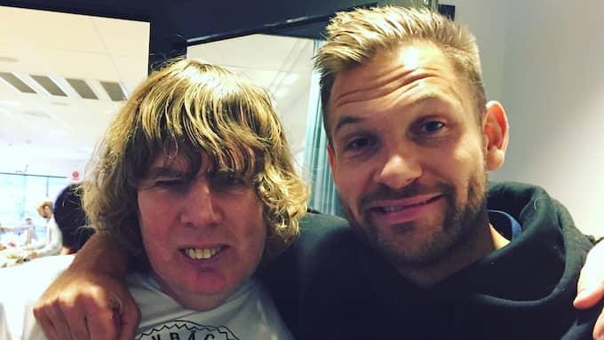 Tony Bäregård, 55, och John Alvbåge, 34. Foto: Privat