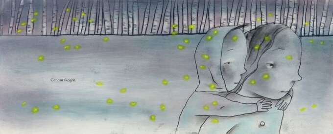 En alldeles särskilt vacker bok om att våga gå fram illustrerad av Ingrid Godon.