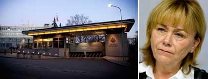 Amerikanska ambassaden i Stockholm och Beatrice Ask. Foto: Martina Huber, Scanpix
