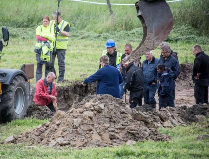 Här hittades kroppen. Foto: Karl Nilsson