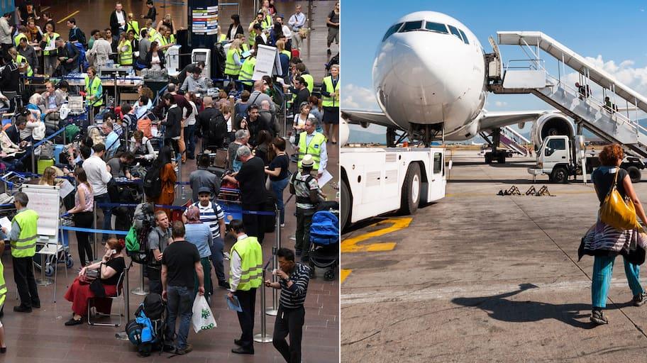 Svenskarna klagomål på flygresor ökar. Under 2017 blev de fler