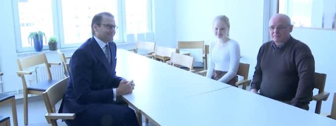 Vilma, 15, fick träffa prinsen.