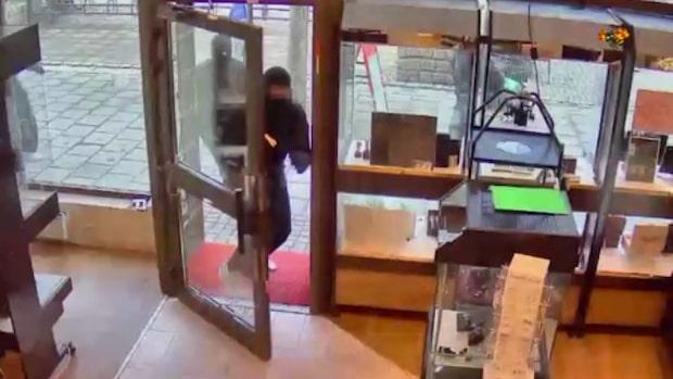 """Ägaren talar ut om guldrånet: """"Kunderna blir skrämda"""""""