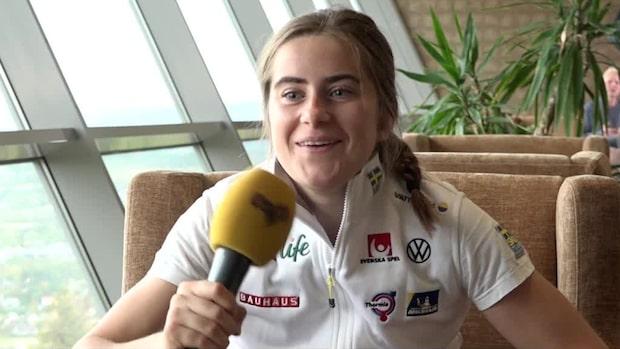 """Ebba Andersson: """"Jag har kräkfobi –det är jätteobehagligt"""""""