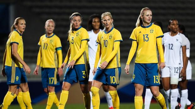 Skrällen i Sveriges trupp mot Sydafrika