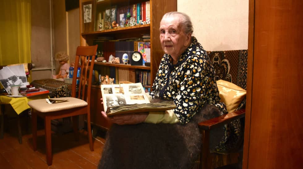 Louise Molander har levt i Ryssland under det händelserika 1900-talet. Foto: / PETER BERTILSSON N