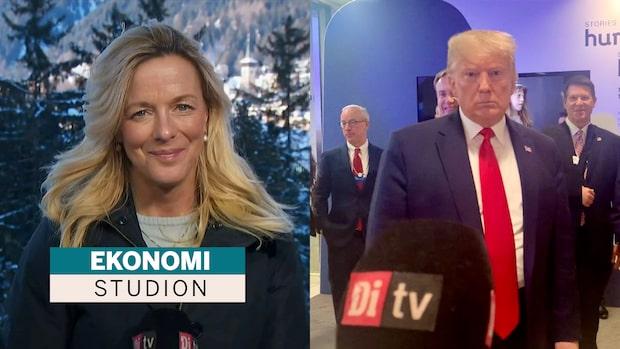 Donald Trump till Di TV om börsen: Finns stor potential