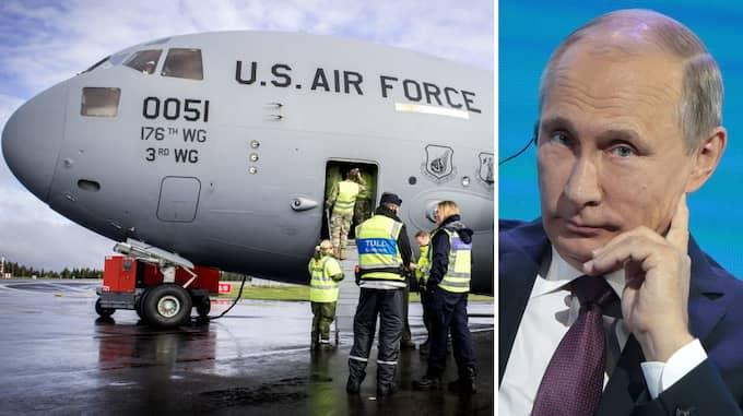 Fredsrörelsen upprörs över försvarsövningen Aurora, där bland andra USA deltar. USA är den stora boven i dessa led. Det aggressiva Ryssland får frikort.