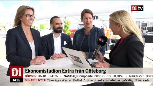 Ekonomistudion Extra 19 juni – Panelsamtal om Göteborgs framtid