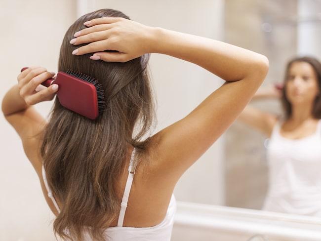 Visste du att din hårborste kan innehålla mögelsvamp  Och annat snusk som i  sin tur c371c83428144