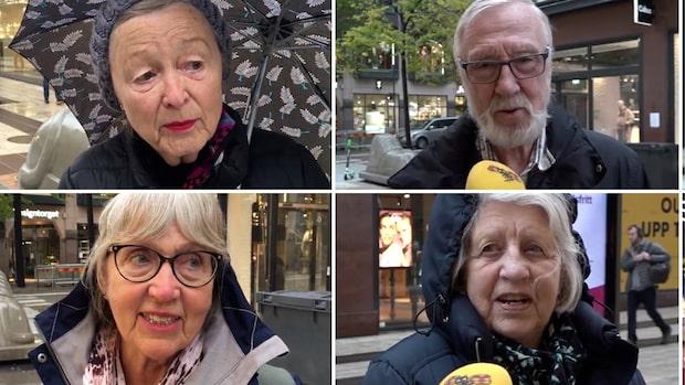 """Lättnad bland äldre: """"Kul att få träffa barnbarnen"""""""