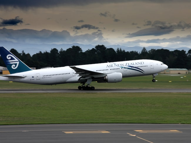 Flera passagerare mådde dåligt under Air New Zealand-flighten.