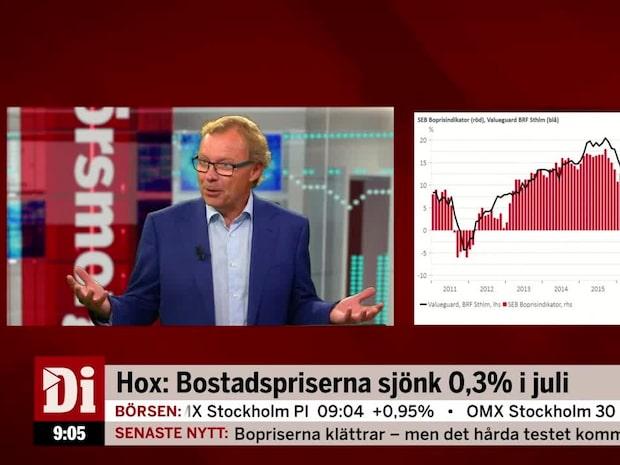 """Malmqvist om bostadspriserna: """"Ska det inte kosta att bo?"""""""