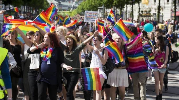 Kampen för allas lika rättigheter är långt ifrån över. Foto: Jan Wiriden / GT/EXPRESSEN