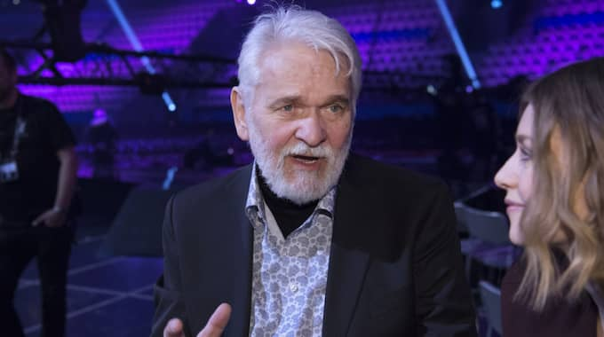 "I ""Melodifestivalen"". Foto: Sven Lindwall"