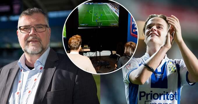 """""""Jag var skeptisk till en början"""", säger Blåvitts tf klubbdirektör Mats Palmgren. Foto: BILDBYRÅN"""