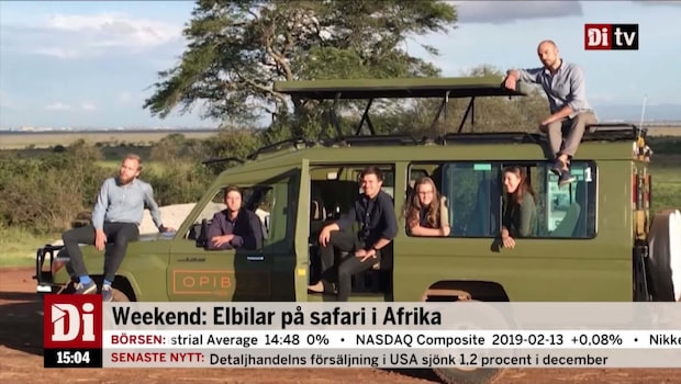 Inför Weekend: Elektriska safaribilar