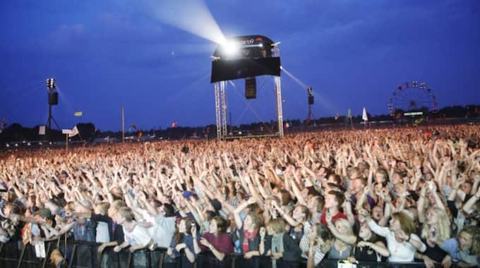 Danska Roskildefestivalen hann knappt böja förrän den första skandalen var ett faktum. Foto: Martin Karlgren