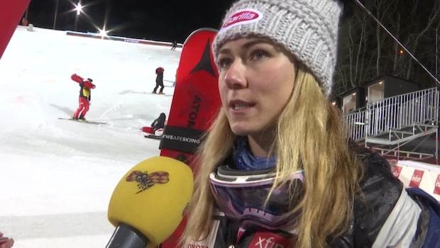 """Shiffrin: """"Fantastiskt att köra i Sverige"""""""
